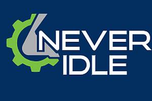 Never Idle Logo