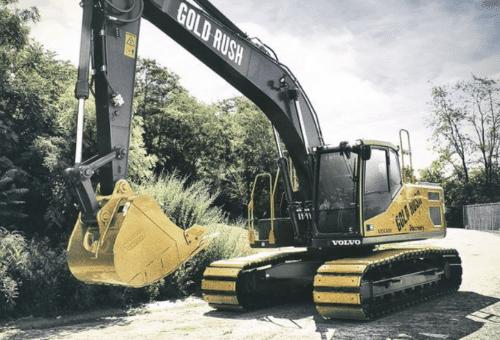 gold rush excavator