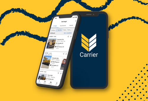 VeriTread Carrier app