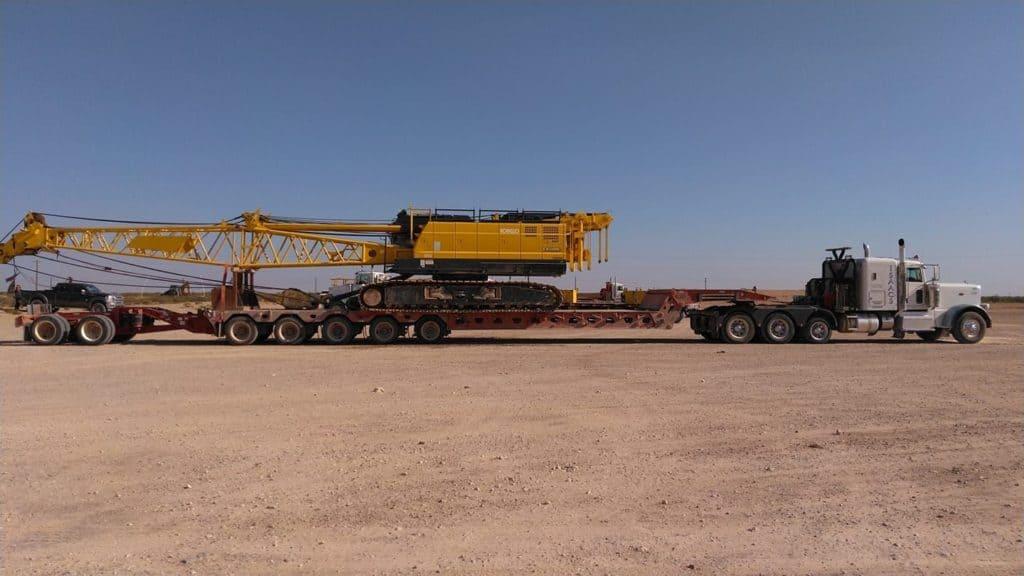 A superload in transport