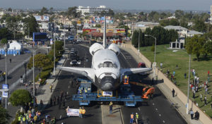 largest heavy haul freight in history the space shuttle transport