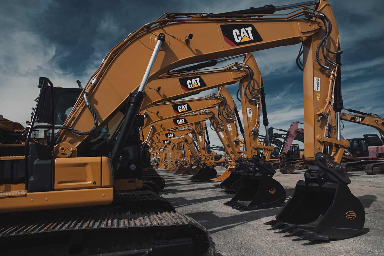 cat excavators