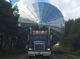 Grain Bin on Truck