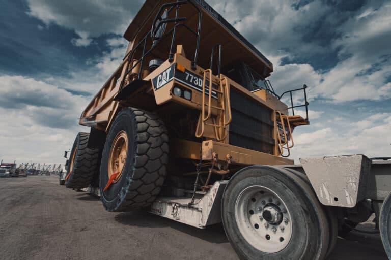 offroad dump truck