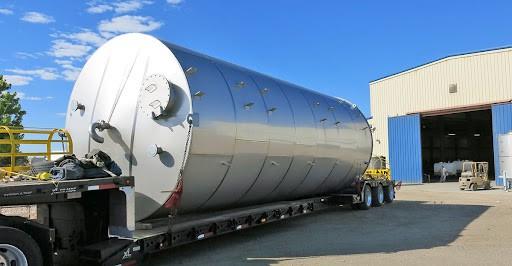 grain bin transport